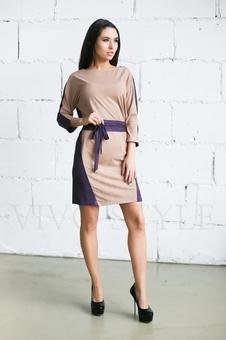 Платье женское с поясом 20276-4