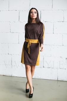 Платье женское с поясом 20276-6