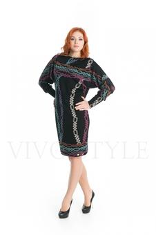 Женское платье с ❝огурцами❝ 20279-3