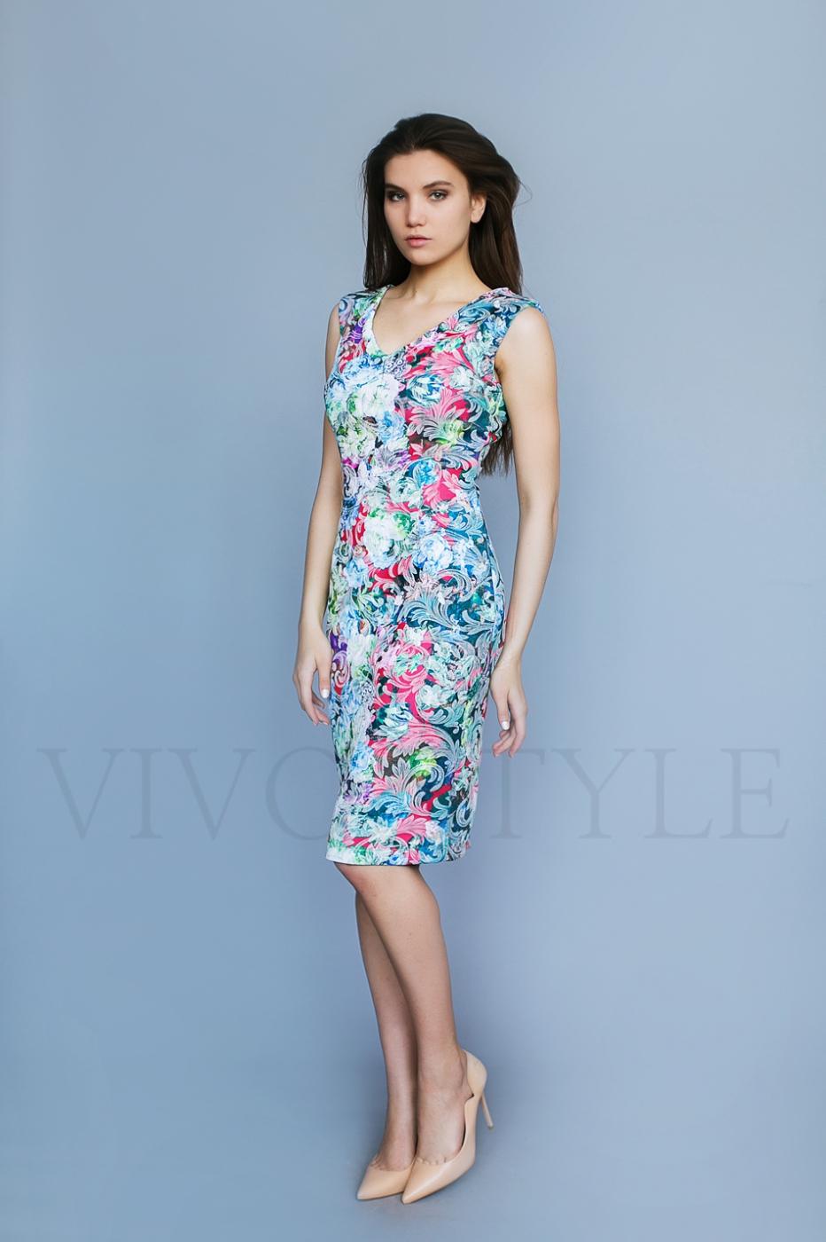 платье из шифона для деловой встречи
