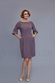 Женское платье с отрезной талией 20304-1