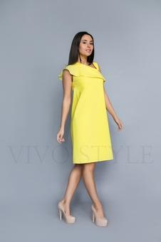 Женское летнее платье без рукавов 20306-1
