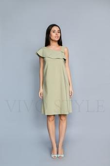 Женское летнее платье без рукавов 20306-4