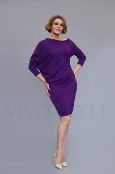 Женское объемное платье 20317-6