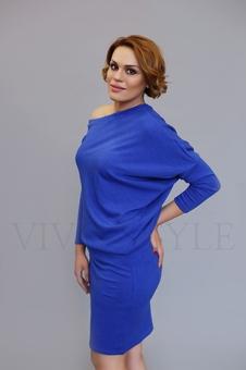 Женское объемное платье 20317-7