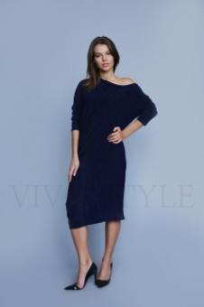 Женское объемное платье 20317-3