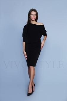 Женское объемное платье 20317-5