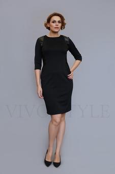 Платье с рукавом три четверти 20331-1