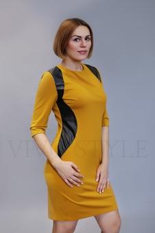 Платье с рукавом три четверти 20331-2