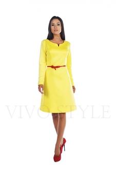 Платье с длинным рукавом 20504-1