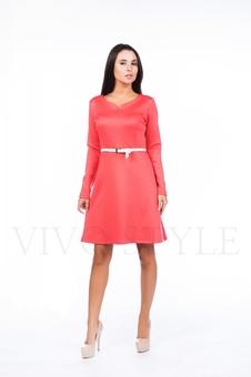 Платье с длинным рукавом 20504-3