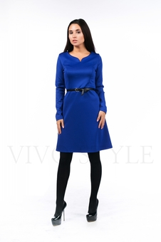 Платье с длинным рукавом 20504-4