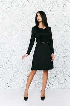 Платье с длинным рукавом 20504-5