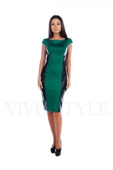 Платье до колена 20506-1