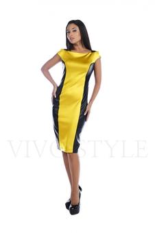 Платье c рукавом