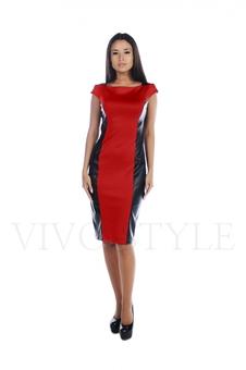 Платье до колена 20506-5