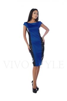 Платье до колена 20506-4