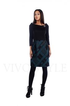 Молодежное платье больших размеров 20534-1