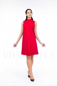 Платье молодежное однотонное 20554-3