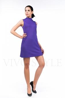 Платье молодежное однотонное 20554-2