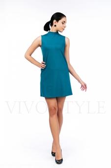 Платье молодежное однотонное 20554-4