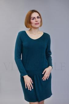 Женское платье из мягкого трикотажа 20605-2