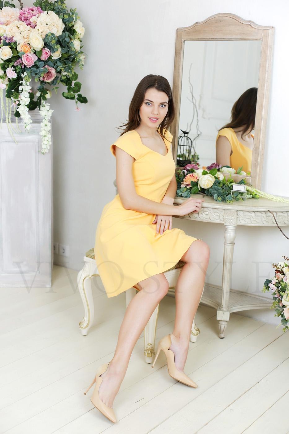 женское платье краснодарской фабрики Виво Стиль