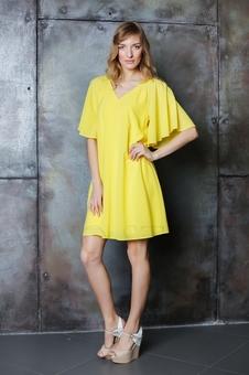 Женское платье из легкой ткани 20636-5