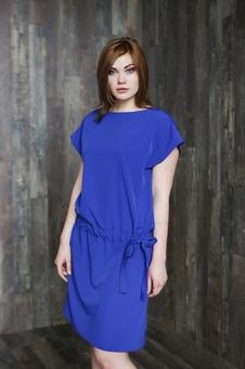Женское платье с коротким рукавом 20658KC-4