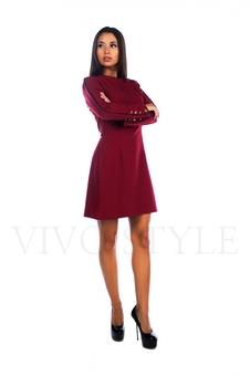 Демисезонное женское платье 26007-1