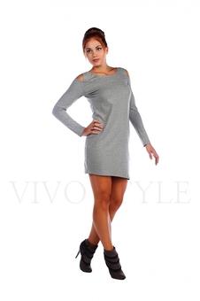 Трикотажное платье 26009-1