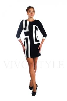 Повседневное платье 26011-1