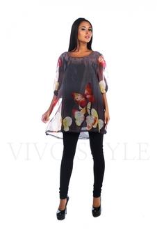 Легкое женское платье 26021-1