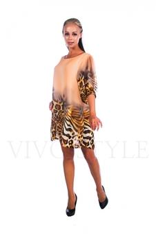Легкое женское платье 26021-3