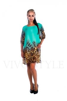 Легкое женское платье 26021-4