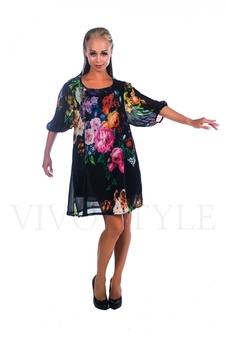 Легкое женское платье 26021-5