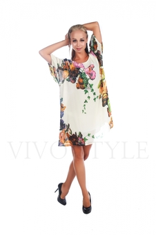 Легкое женское платье 26021-2