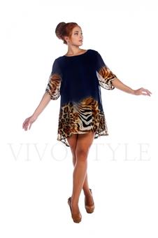 Легкое женское платье 26021-6