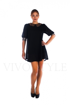 Нарядное молодежное платье с пайетками 26022-2