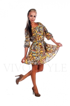 Милое женское платье 26026-2