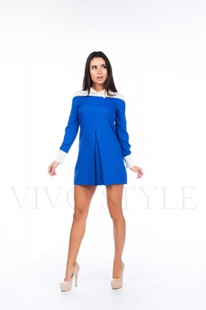 Платье в рубашечном стиле 26028-1