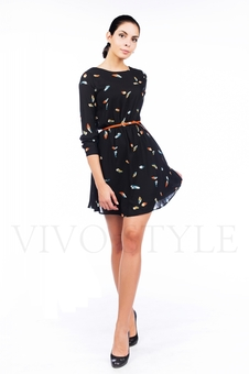 Легкое шифоновое платье 26030-1
