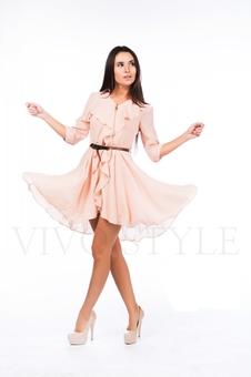Платье с расклешенной юбкой 26040-2