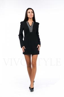Женское платье полуприлегающего силуэта 26044-1