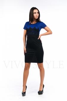 Облегающее строгое платье 26045-3