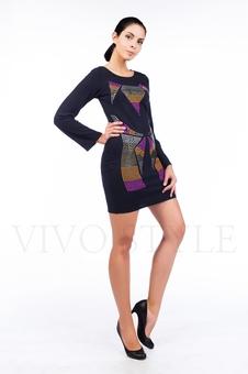 Платье с длинным рукавом 26085-1