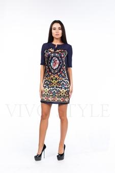Элегантное платье с рукавом 26103-1