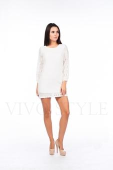 Короткое платье прямого силуэта 26107-1