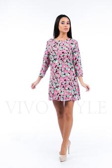 Простое прямое платье 26109-1