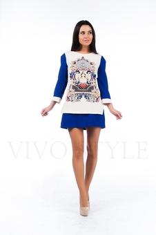 Многослойное платье 26118-2-2
